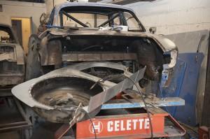 Classic Alfa Romeo Giulia GT restoration 1