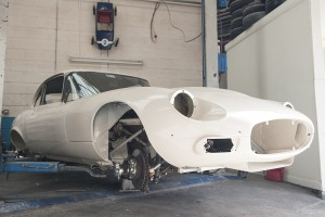Jaguar E Type restoration UK