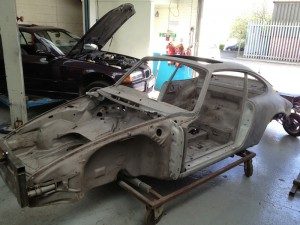 Porsche Rust Repair Racing Restorations UK 1