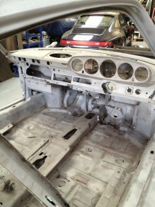 Porsche Rust Repair Racing Restorations UK 3