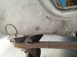 Porsche Rust Repair Racing Restorations UK 4